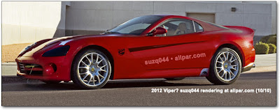 2012 Dodge Viper SRT Side View
