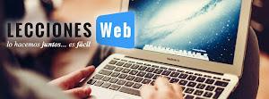 Lecciones Web, lo hacemos juntos...es fácil