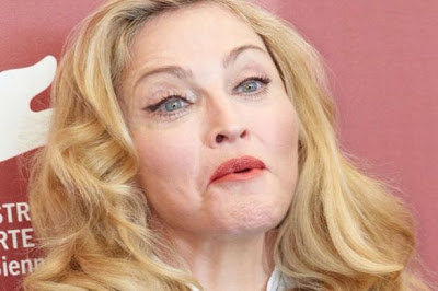 Madonna looking old
