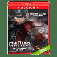 Capitán América: Civil War (2016) HECV H265 720p Audio Dual Latino-Ingles (Ligera)