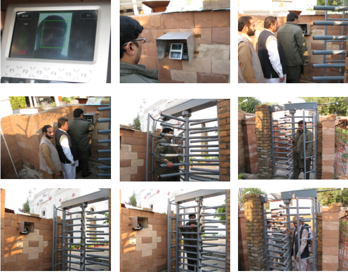 .All Saints' Church Peshawar gets biometrics enabled secured gate