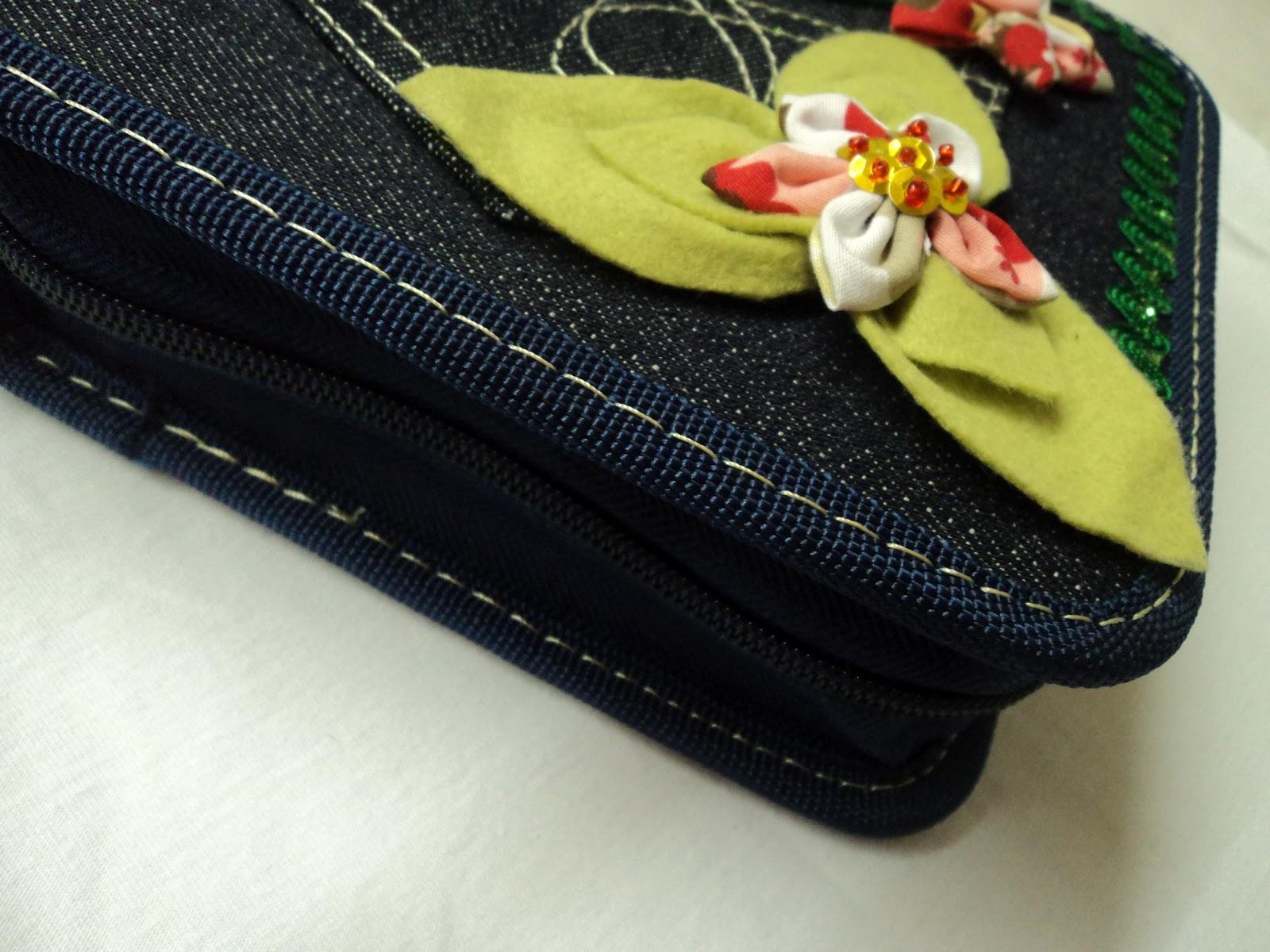 Fazendo Arte Com A Clau Porta Cd 39 S Dvd 39 S Jeans Customizado