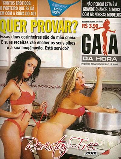 As Cozinheiras - Gata da Hora - Novembro 2006