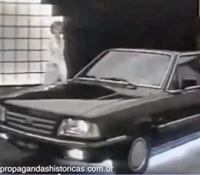 Propaganda antiga do Ford Del Rey em 1986.