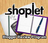 Shoplet Blogger Review Program
