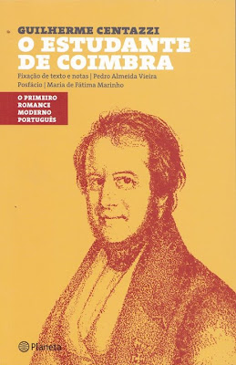 O Estudante de Coimbra de Guilherme Centazzi, O primeiro romance moderno português