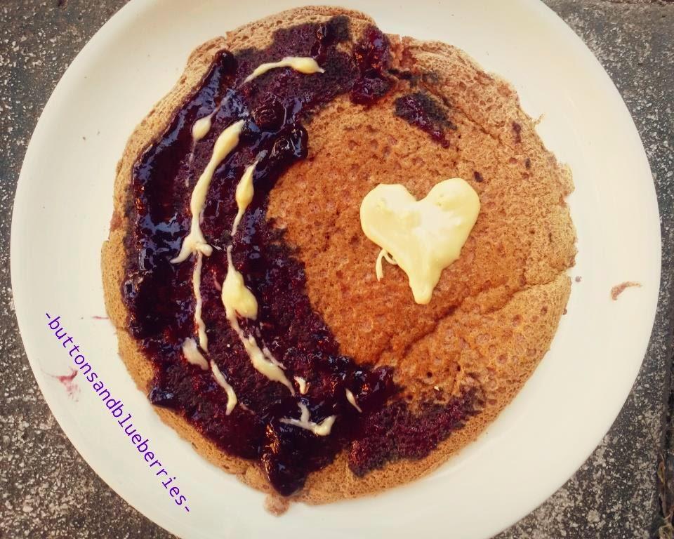 Pancakes crepes gluten-free alla banana e grano saraceno vegan, facilissimi, loght e salutari.senza glutine