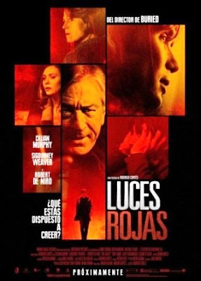 Luces rojas (Red Lights)(2012) robert de niro poster pelicula
