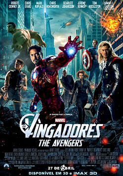 Filme Poster Os Vingadores TS XviD & RMVB Dublado
