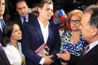 Albert Rivera: No es que el alcalde Ledezma esté preso, es que está incomunicado