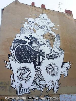 streetart, berlin, kunst, graffiti, blo