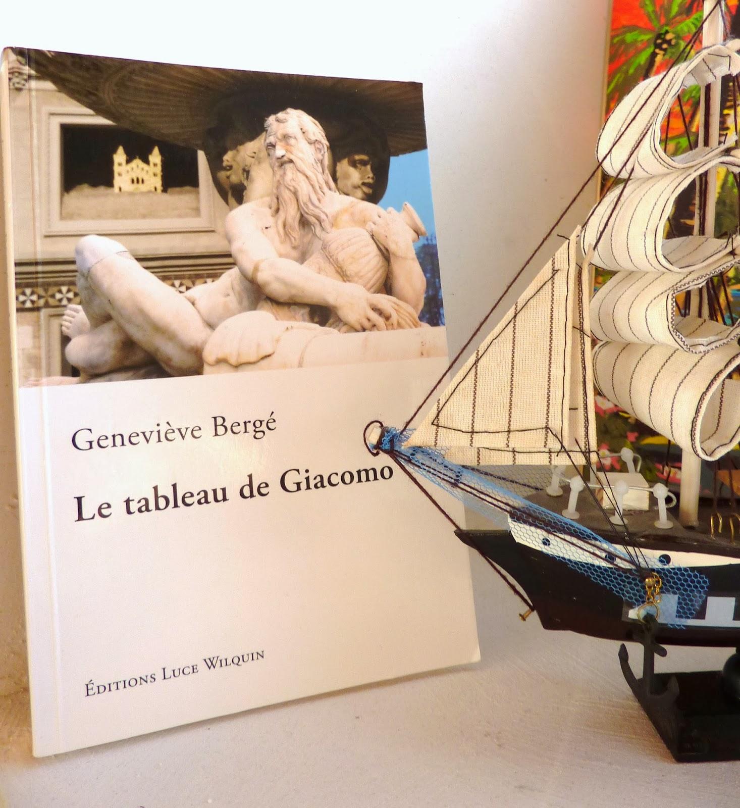 Le tableau de Giacomo - Geneviève Bergé