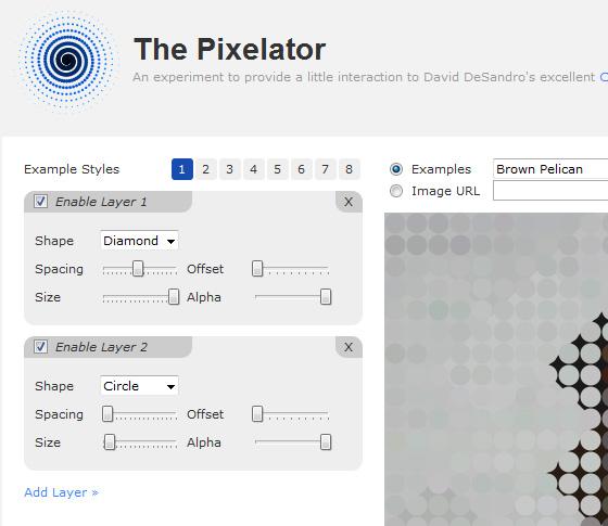 The Pixelator