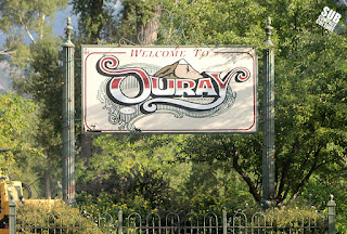 Ouray, CO sign