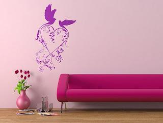 ������ ���� 2012, ����� 2012,������� wall-sticker-purple-and-pink-birds.jpg
