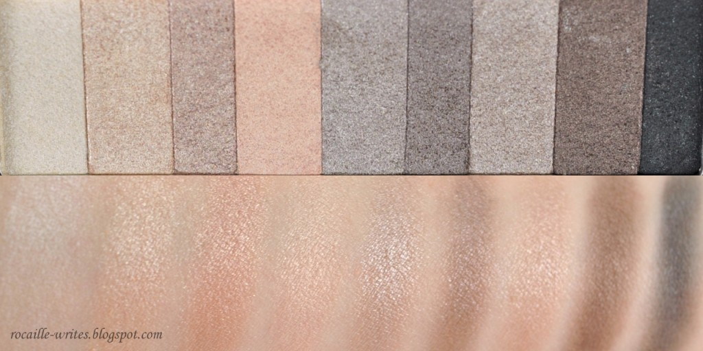 Rocaille Writes Review Swatches Physicians Formula Nude
