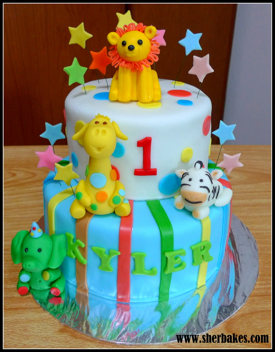 Safari Jungle Cake Sherbakes