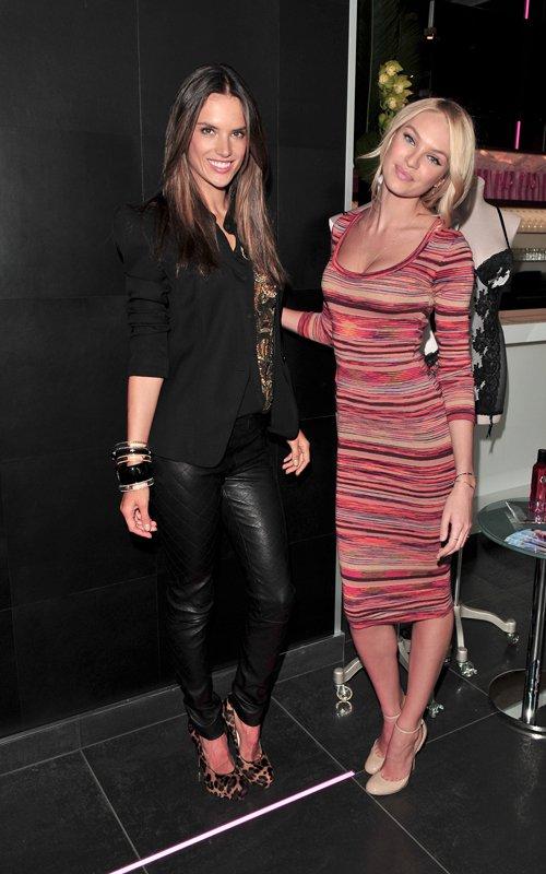 Candice Swanepoel & Alessandra Ambrosio in Victoria's secret Brunch