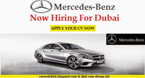 Latest Mercedes Benz Jobs Dubai UAE