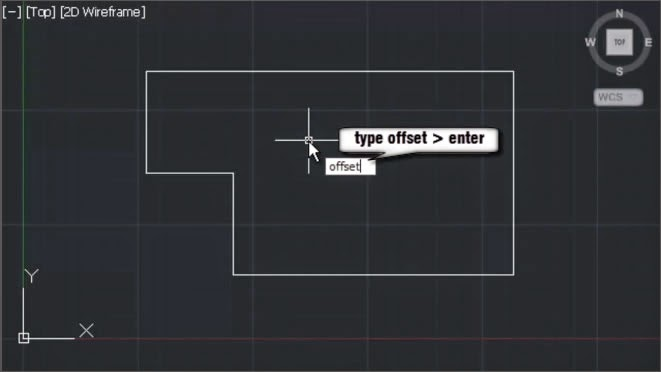 AutoCAD Offset Command