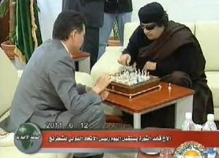 En 2011, Ilyumzhinov fréquentait le dictateur libyen Muammar Kadhafi