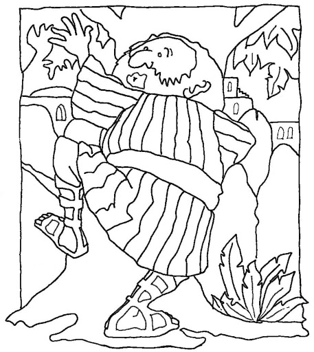 zaqueo coloring pages - photo #19
