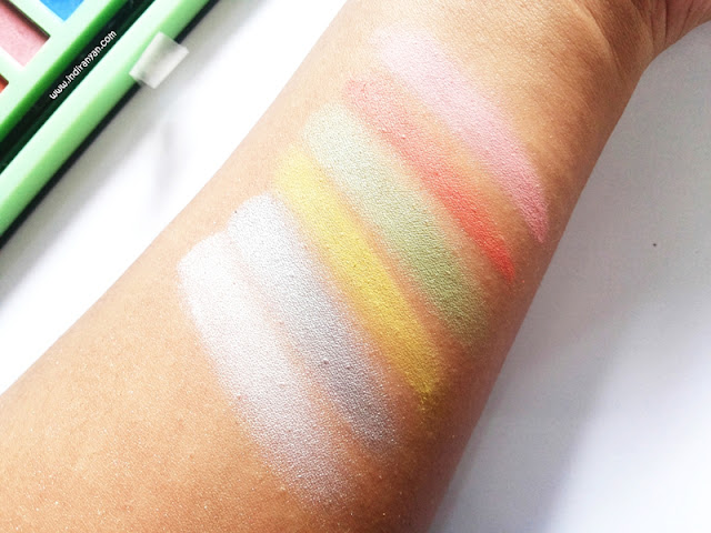 LA Girl Beauty Brick Neons swatch