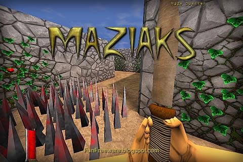 Maziaks - 3D maze game