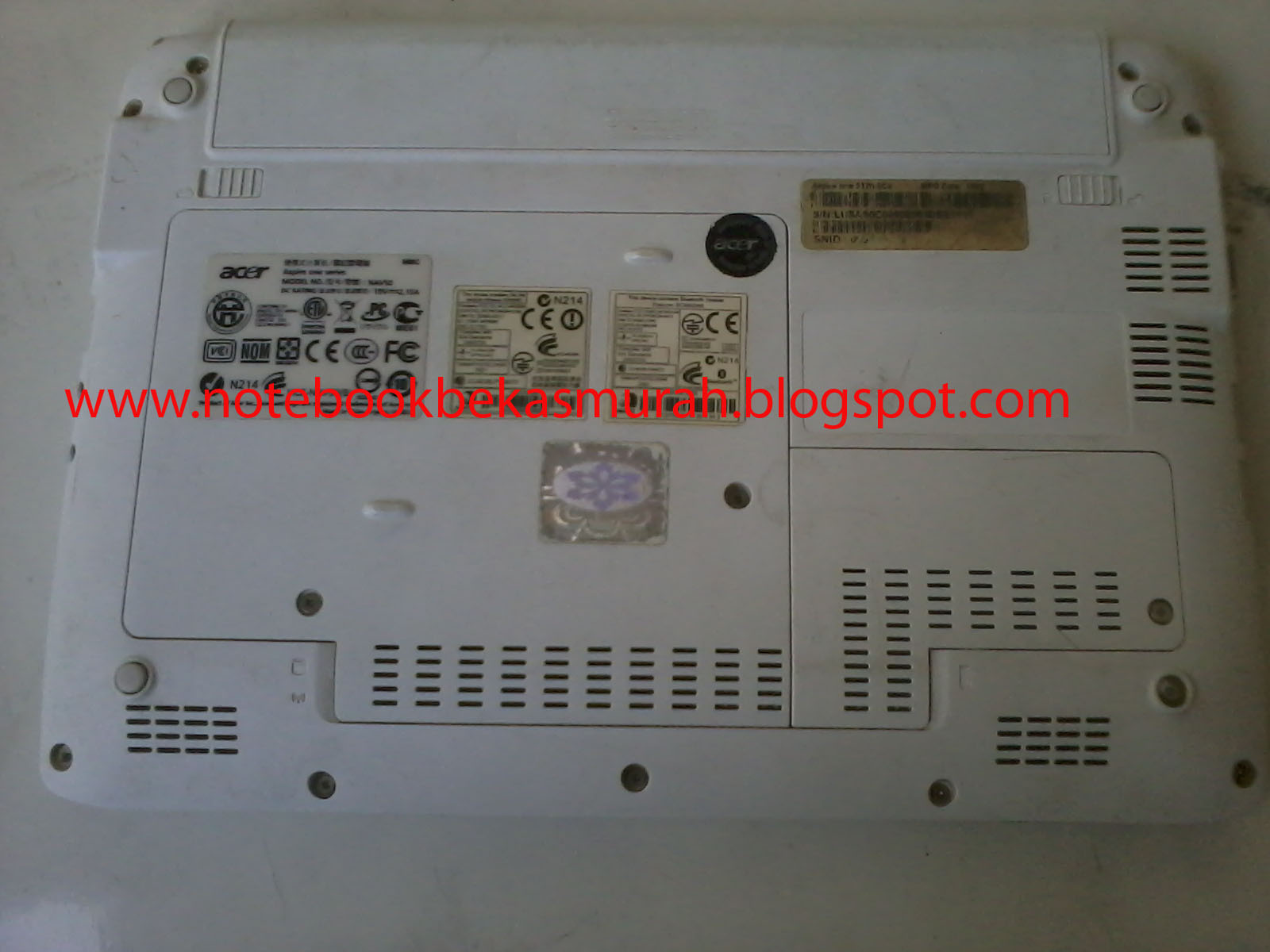 Harga Ic Power Laptop Merk Hp jual laptop bekas murah netbook acer seken murah meriah