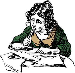in-nuce.com: Girl writing