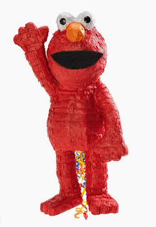 "Elmo 3D 21"" Pull-String Pinata"