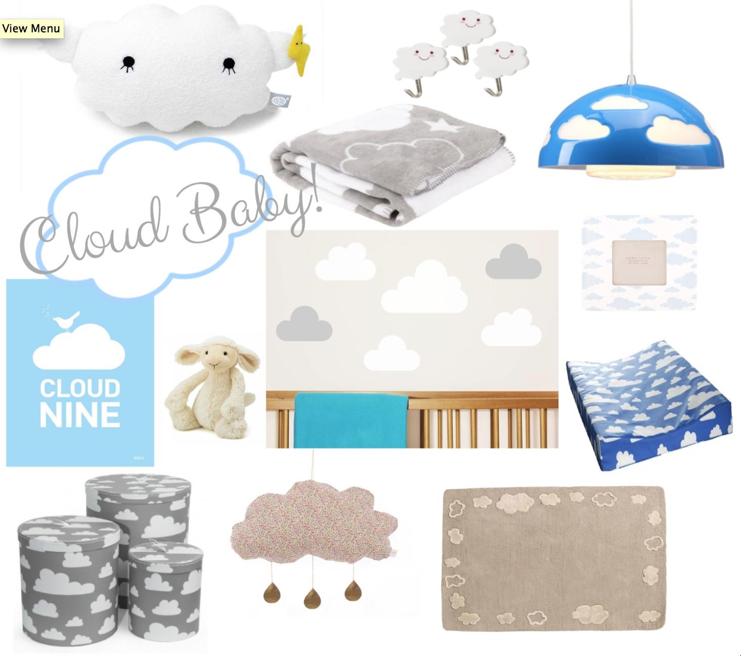 How To Create A Dreamy Unisex Cloud Nursery Or Bedroom