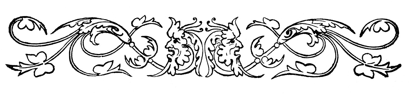Here Are Some Nice Old Victorian Printer Ornaments Wedding Clip Art