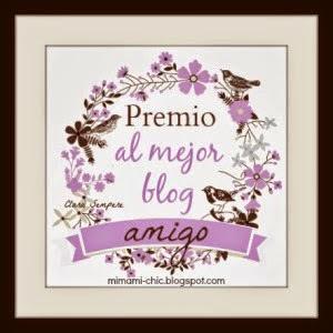 2º Premio: Premio al mejor blog amigo
