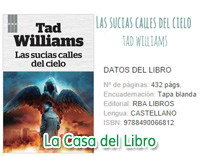 sucias calles cielo tad williams boby dollar angeles demonios