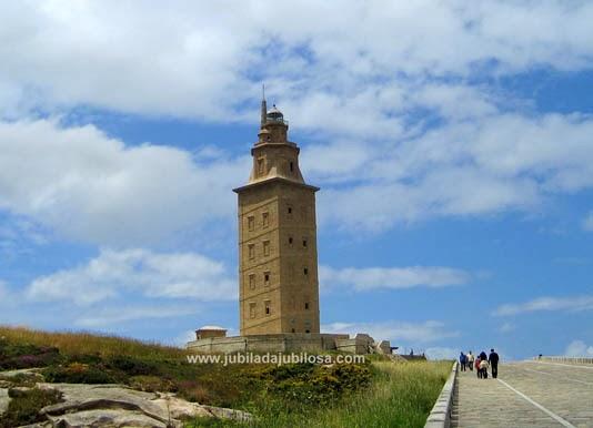Torre de Hércules. Patrimonio de la Humanidad.