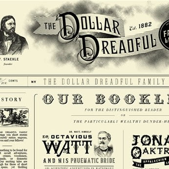 30 Vintage and Retro Website Design Examples