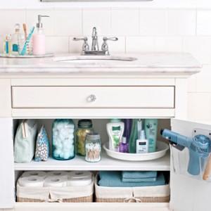 Pimenta doce organizando o banheiro for Bathroom storage ideas b q