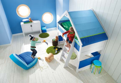 cama infantil casa juego blanca esta cama se transforma rpidamente en un paraso de juego una ingeniosa camarbol en el interior de la casa