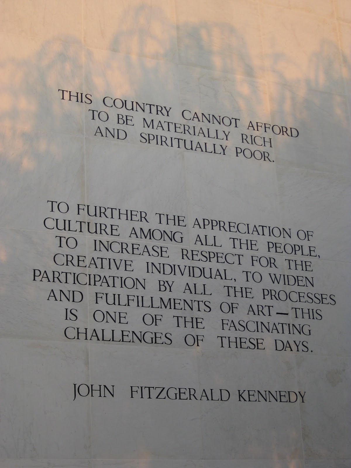 Priority List Quotes on Jfk's Priority List The