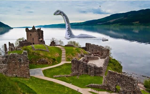 Castelo de Urquhart - Lago Ness, Drumnadrochit, Escócia