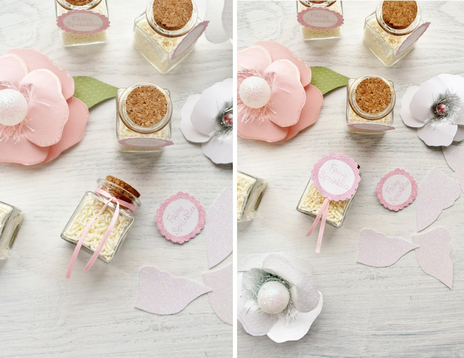 Icing Designs: Mini Fairy Sprinkles Favors