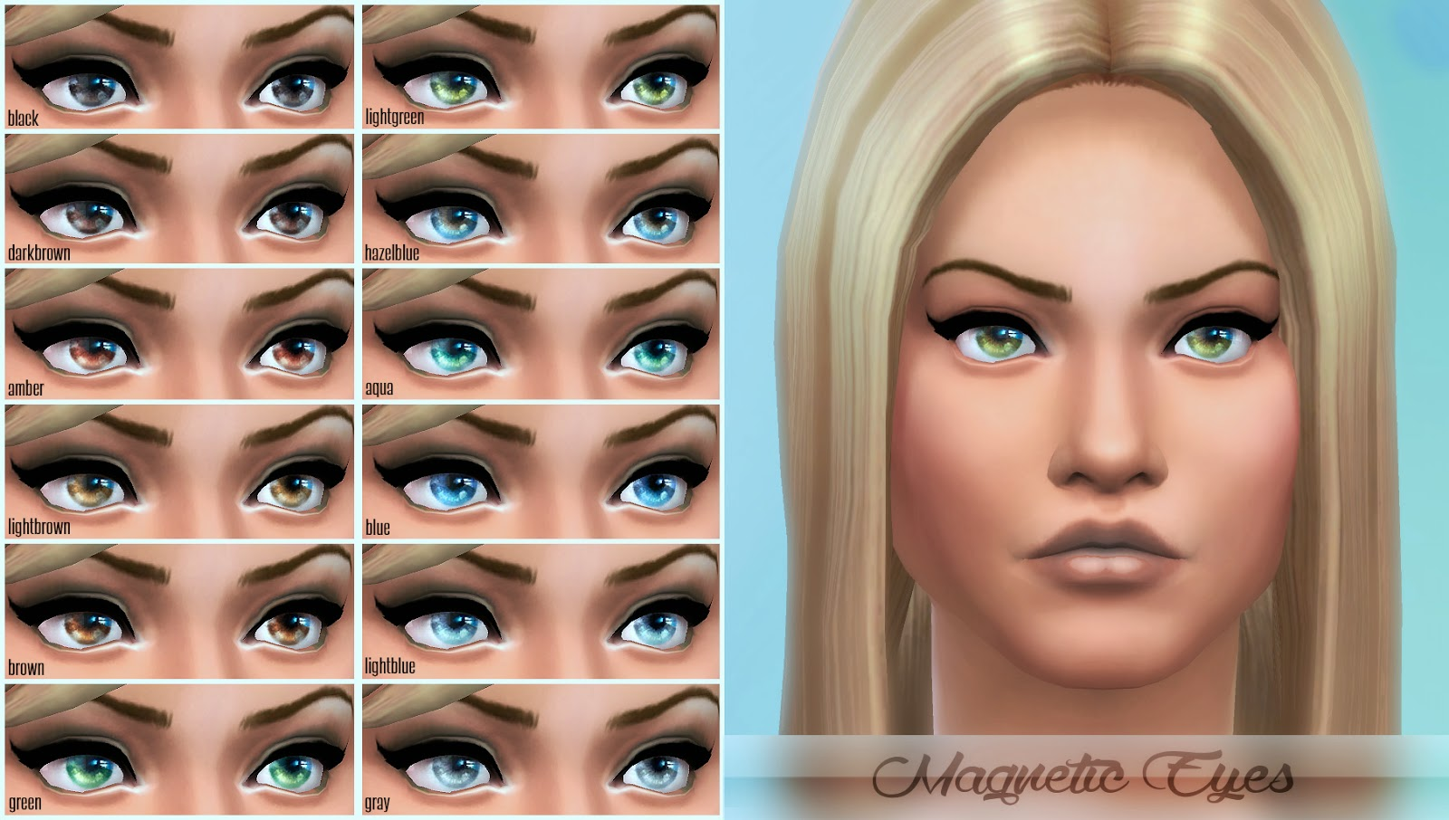Sims 3 Custom Content Hair Colors | HAIRSTYLE GALLERY
