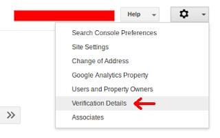 Verifikasi Akun Google Webmaster