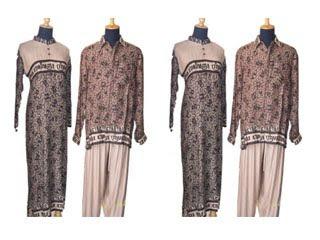 Baju Muslim  Muslimah Batik Modern Terbaru