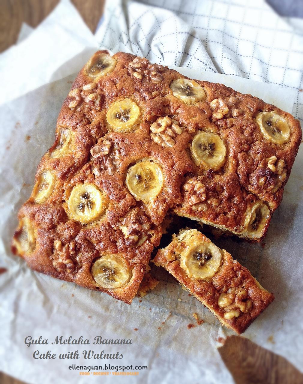 Banana Cake Recipe Round Tin