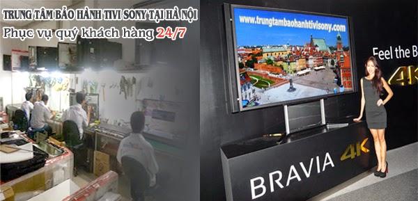 bảo hành tivi SONY tại Hà Nội