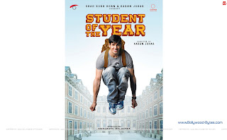 Sidharth Malhotra from Student Of The Year WideScreen HD Wallpaper
