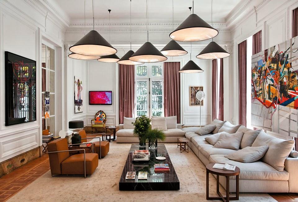 Paredes decoradas e diferentes veja 30 ideias timas for Living room ideas earthy