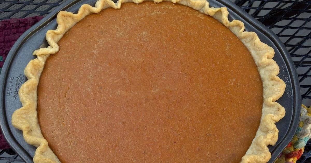Baking Outside the Box: Autumn Sweet Potato Pie